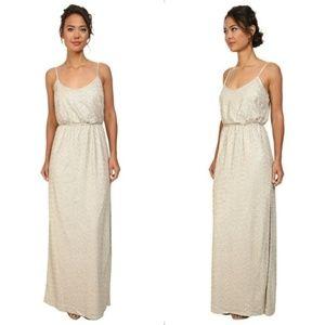 NWT Jessica Simpson Sequin Blouson Dress, Leg Slit